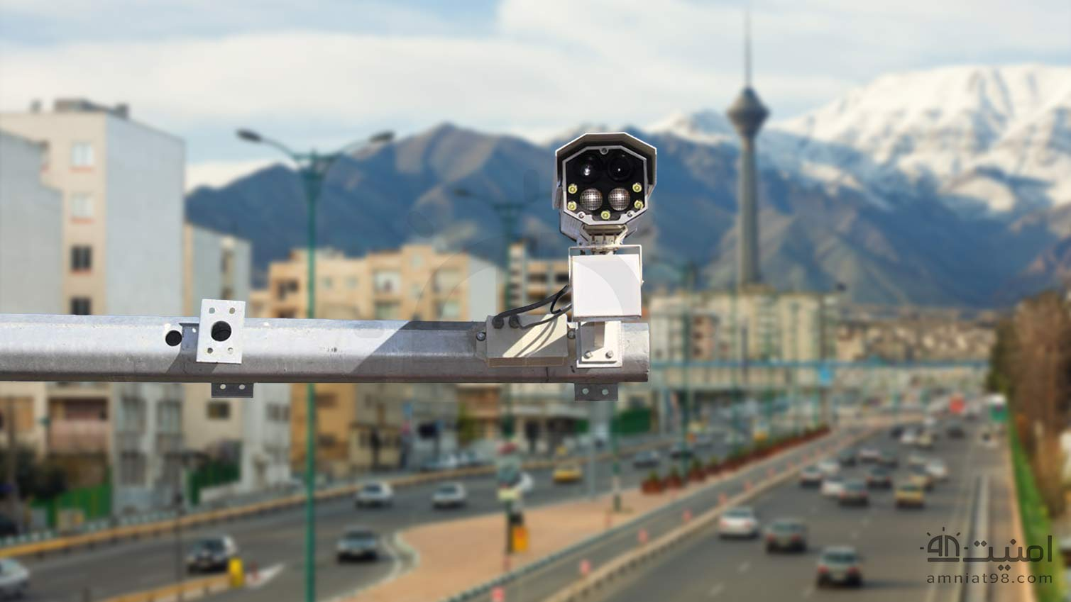 License Plate Recognition Cameras 5 amniat98 - دوربین پلاک خوان + ویدیو