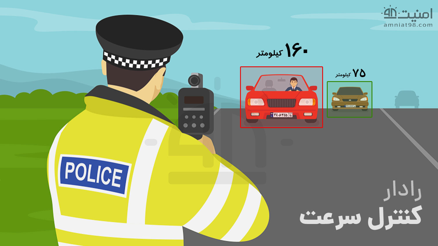 License Plate Recognition Cameras 7 amniat98 - دوربین پلاک خوان + ویدیو